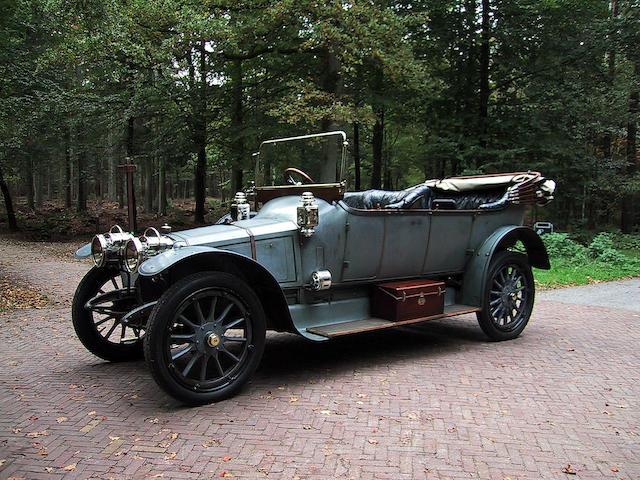 1911 Panhard X 14 4.5 litres