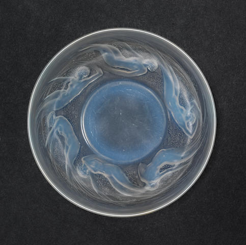 René Lalique 'Ondines' a Bowl, design 1921