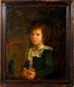 English School, late 18th/early 19th Century Portraits of a young boy and girl