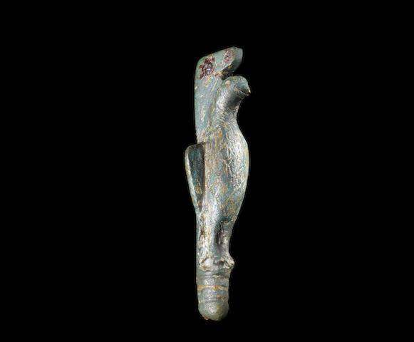 A Roman bronze folding knife