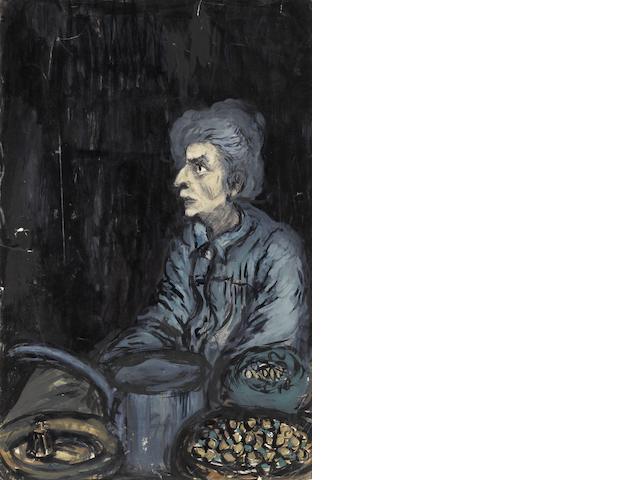 Fahrelnissa Zeid (Turkish, 1901-91) Three female portraits  (3)