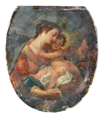 Neapolitan School, 18th Century The Madonna and Child
