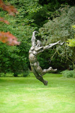 Stella Shawzin (South African, born 1923) 'Athlete III' 180cm. (70 7/8in.) high (not including base)