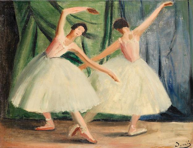 André Derain (French, 1880-1954) Deux danseuses