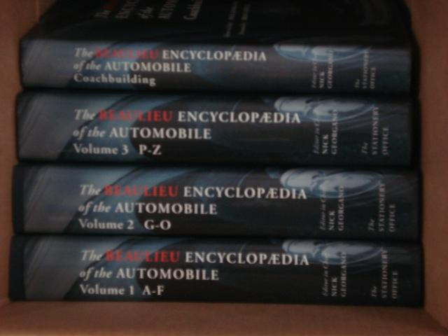 Nick Georgano: The Beaulieu Encyclopaedia of the Automobile; Volumes 1-3,