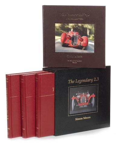 Simon Moore: The Legendary 2.3 Alfa Romeo 8C2300; Volumes 1-3,