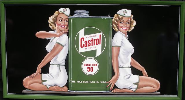 Tony Upson, 'Castrol Mechanics',
