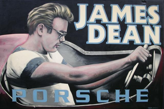 Tony Upson, 'James Dean - Porsche',