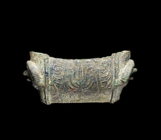 A Roman bronze attachment - CAN WE LOWER EST : £600-800??