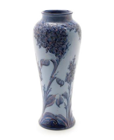 William Moorcroft 'Hesparian Lilac' a Florian Ware Vase, circa 1902