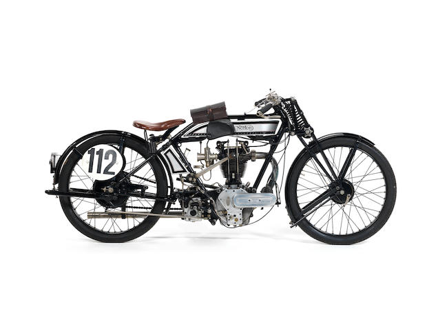 1925 Norton 490cc Special Model 18 Frame no. 22787 Engine no. 25300