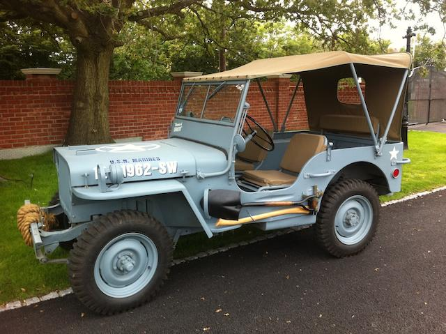 1943 Willys Jeep  Chassis no. MB257065
