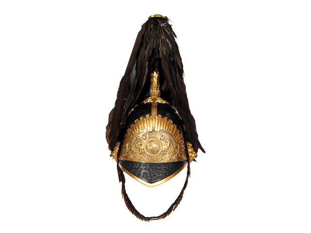 The Taplow Troop Bucks Yeomanry Cavalry Officer's Helmet c1850
