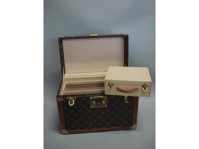 A Louis Vuitton vanity case,