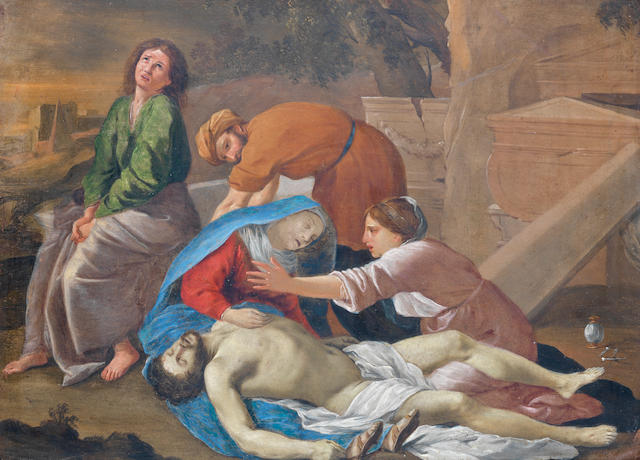 After Nicolas Poussin, 17th Century The Entombment