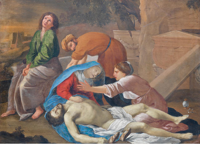 After Nicolas Poussin, 17th Century The Lamentation