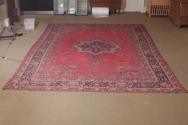 A large Turkey carpet 337cm x 639cm