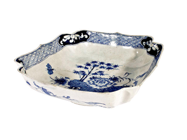 A Bow salad bowl, circa 1755