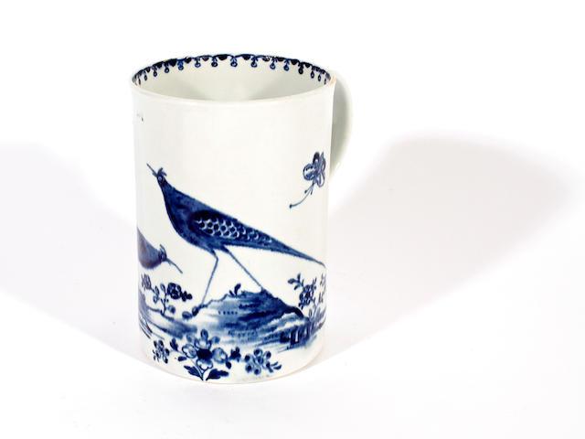 A John Pennington mug, circa 1770-75