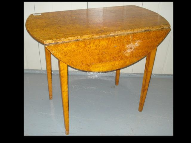 An 19th Century   maple Pembroke table,
