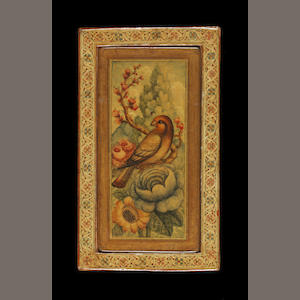 An erotic Qajar lacquer Mirror-Case Persia, 19th Century(2)