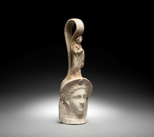 A Canosan terracotta pseudo-vessel