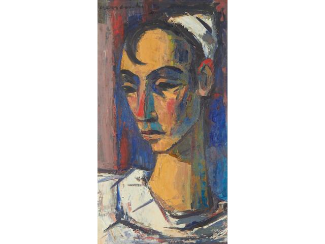 Maurice Charles Louis van Essche (South African, 1906-1977) Harlequin