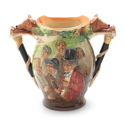 Doulton Burslem 'John Peel' a Loving Cup, 1933
