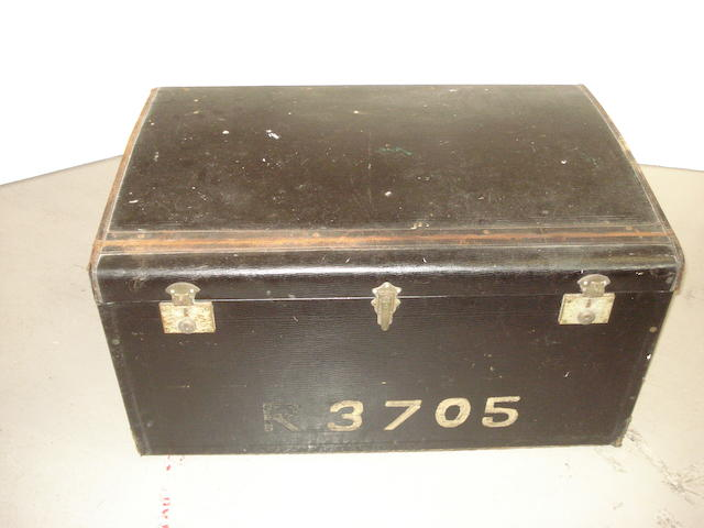 A Dunhills Ltd motoring trunk, 1920s,