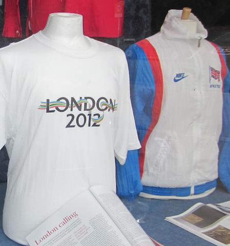 A collection of Olympic Games clothing