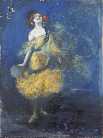 Dudley Hardy (British, 1865-1922) Dancing Girl