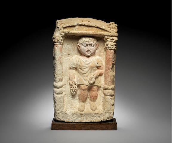 A Coptic stele
