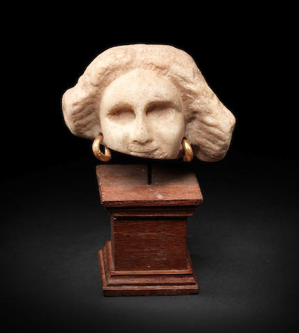 A Hellenistic marble female head