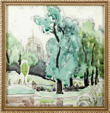 Ronald Ossory Dunlop, NEA, ARA, RBA (British, 1894-1973) St James' Park