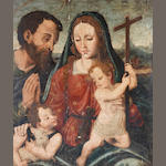 Circle of Joan de Joanes (Valencia 1510-1579) The Holy Family