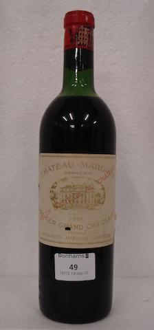 Chateau Margaux 1961 (1)