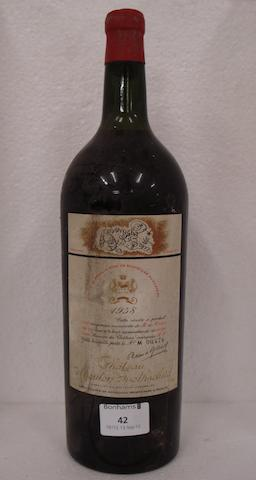 Chateau Mouton Rothschild 1958 (1 magnum)