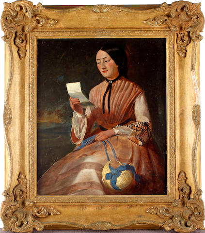 English School Portrait of a lady