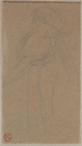 Henri de Toulouse-Lautrec (1864-1901) Mademoiselle Marsy
