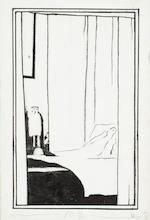 Fernand Khnopff (Belgian, 1858-1921) Cinq illustrations pour 'Pelléas et Mélisande'<BR />