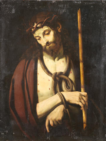 French School, 16th Century, after Andrea Solario Ecce Homo