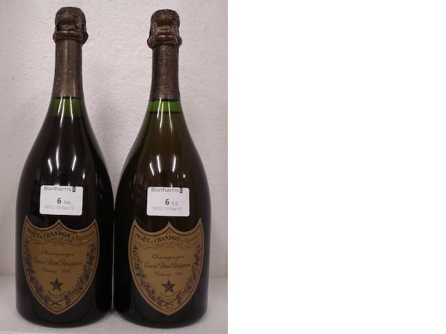 Dom Pérignon 1969 (1)<BR />Dom Pérignon 1976 (1)
