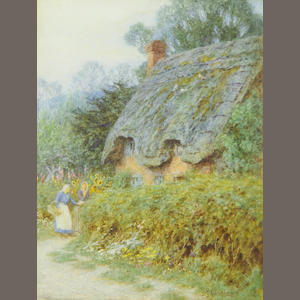 Helen Allingham, RWS (British, 1848-1926) Catching up
