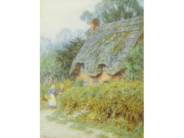 Helen Allingham, RWS (British, 1848-1926) Catching up