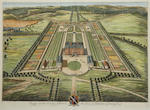 8 copper plate engravings of country houses by L & J Kip, London 1709 - 1724