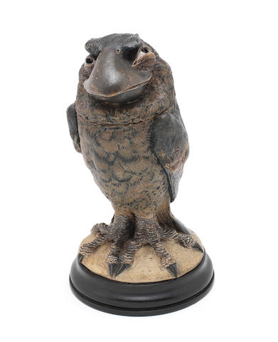 Martin Brothers a Bird Jar and Cover, 1897