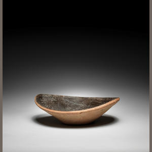 An Egyptian Predynastic black-topped pottery bowl