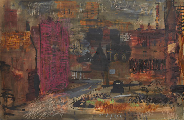John Piper C.H. (British, 1903-1992) Sheffield