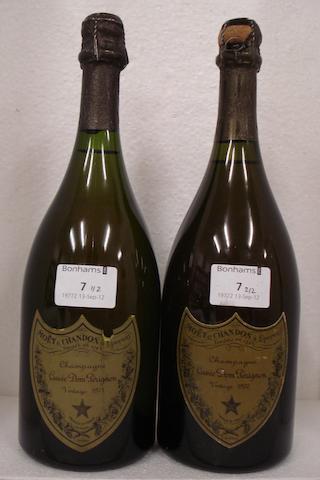 Dom Pérignon 1970 (1)<BR />Dom Pérignon 1971 (1)