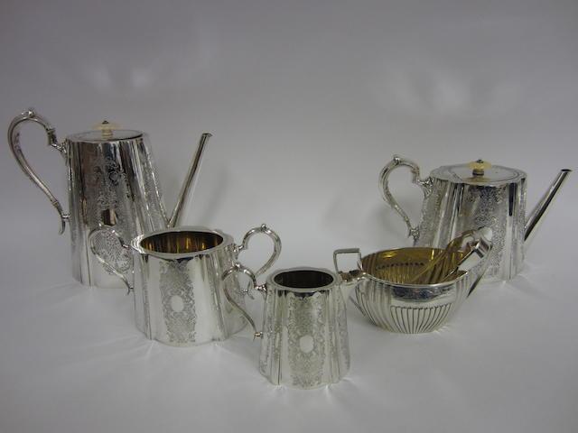 A George III silver sugal bowl  Sheffield 1803